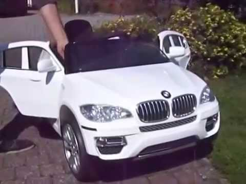 Bmw X6 Accu Auto 12v Rc Wit Youtube
