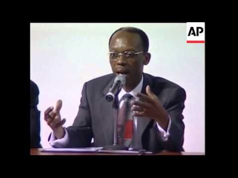 Haitian President news conference