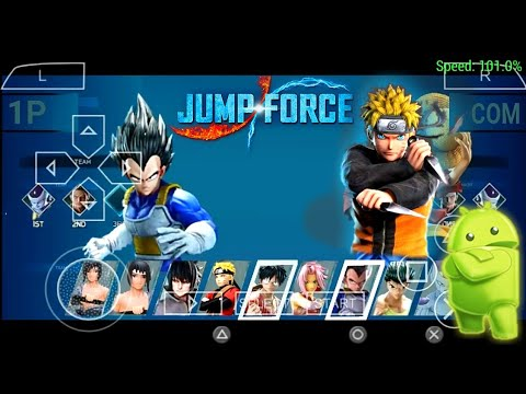 DOWNLOAD NEW JUMP FOR MOD FOR ANDROID PSP || Naruto Shippuden Ultimate Ninja Impact Jump Force Mod