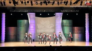 Sol-T-Shine (Japan) at World Hip Hop Dance Championship Prelims 2012 (Varsity)