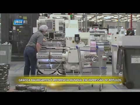 Santa Catarina Industrial - Sempre à Frente: Baumgarten Gráfica