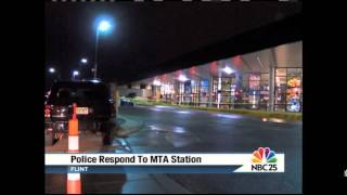 NBC 25 TODAY: Suspect opens fire inside MTA Flint bus station