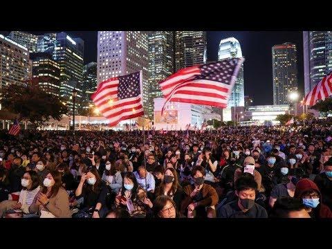 《石涛评述》纽约时报:香港人权法将如何影响中美贸易协议