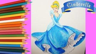 Cenicienta   Disney   Boya Boya Pinta Pinta   Cómo Dibujar