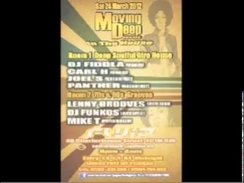 "DJ Fiddla Live @ ""Movingdeep In House"" Fluid London 2012"