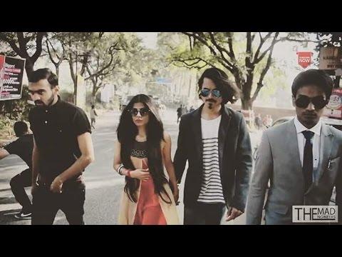 BB Ki Vines With His Girlfriend Celebrity Prank| Bhuvan Bam | The Mad Engineers