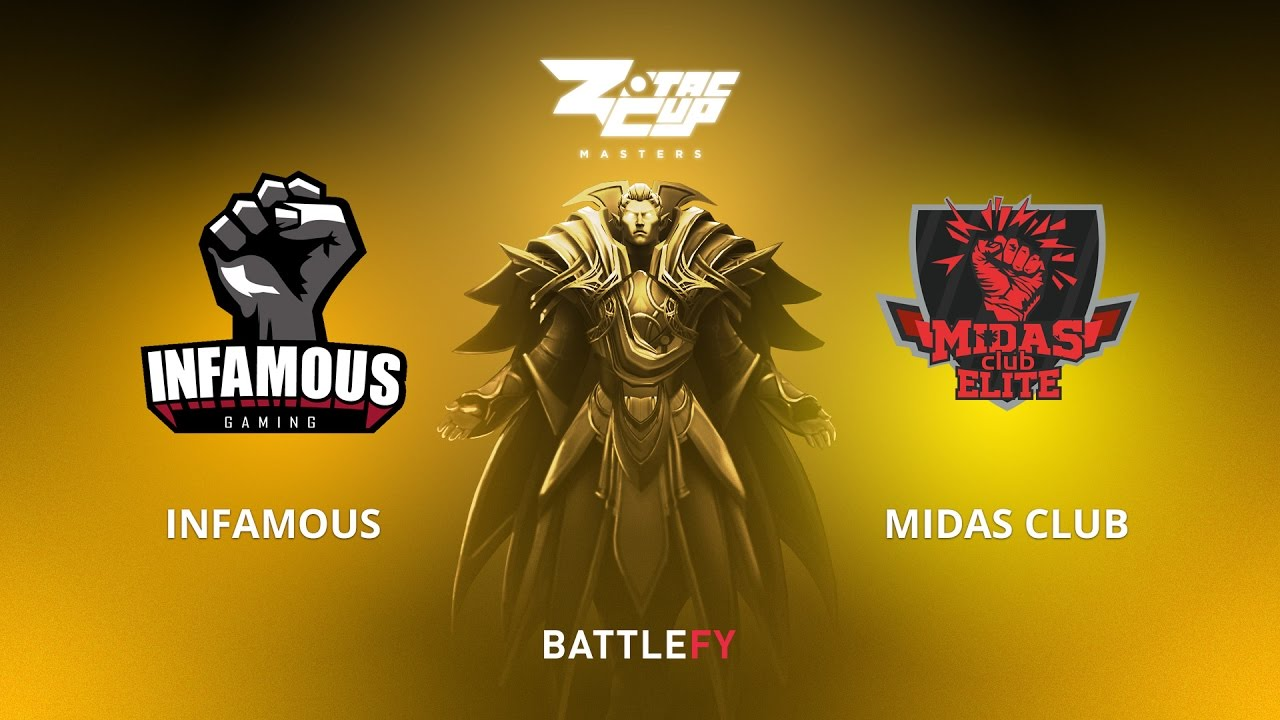Infamous vs Midas Club, Game 1, Zotac Cup Masters, AM Qualifier