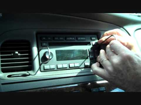 Mercury Grand Marquis And Marauder Stereo Removal