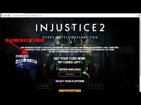 Injustice 2 beta code giveaway