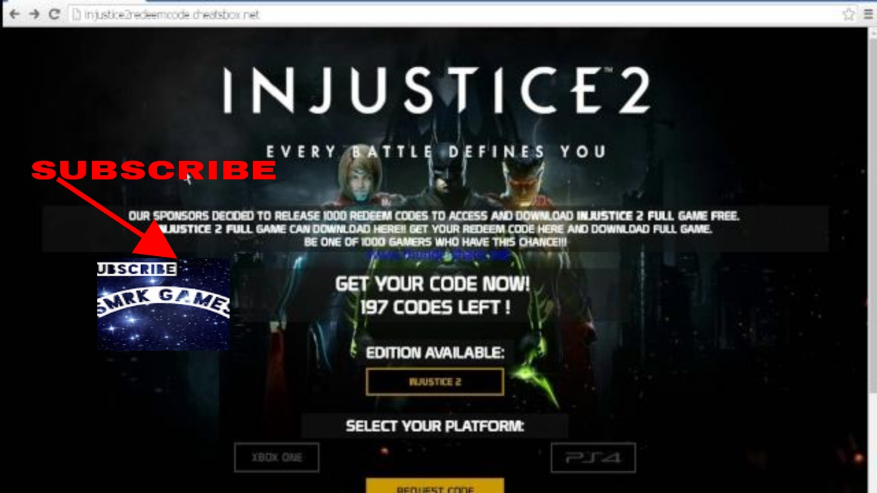 How To Get Injustice 2 Dlc Code Free Ps4 Region 3