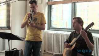 "Jason Vieaux and Julien Labro play Pat Metheny's ""Antonia"""