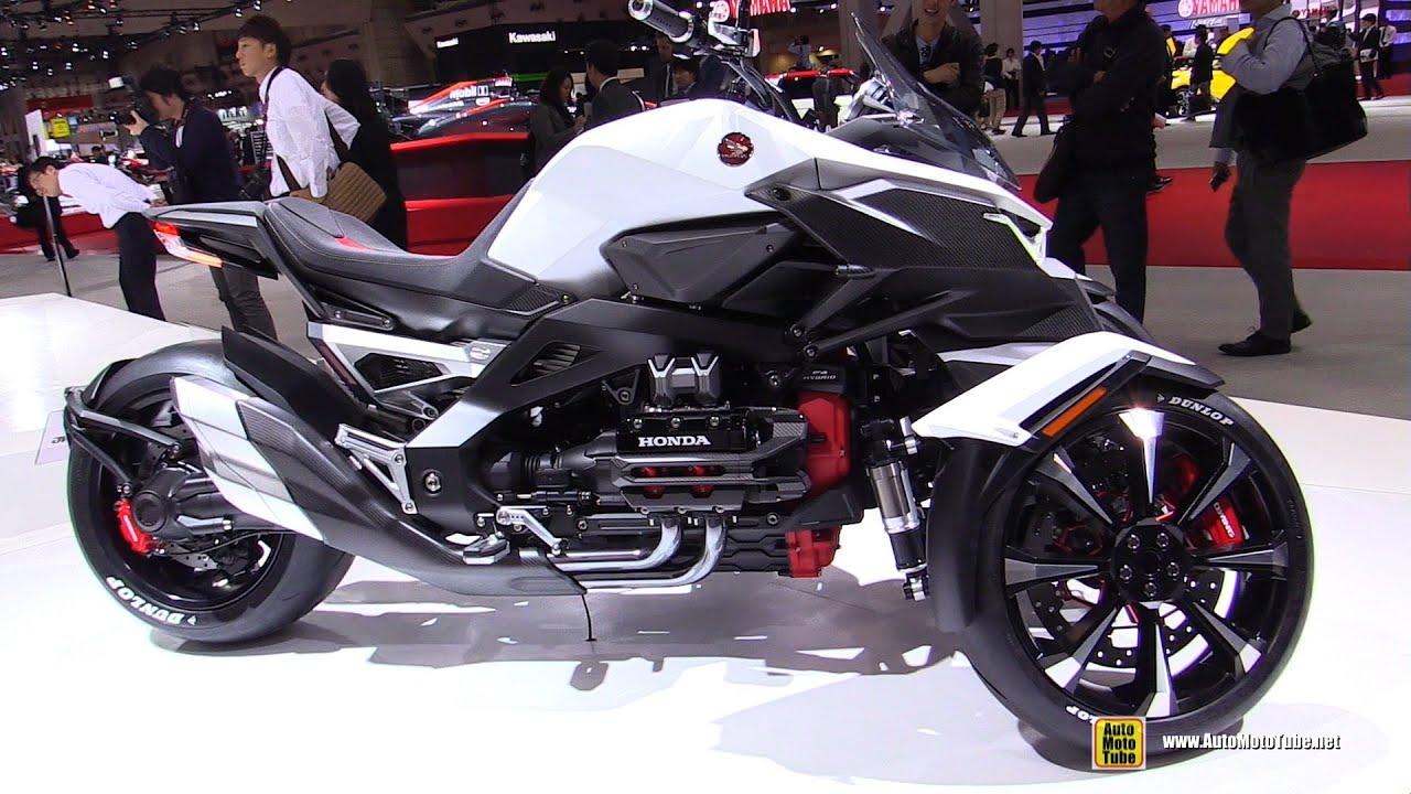 Honda Neowing Concept Bike Walkaround 2015 Tokyo Motor Show
