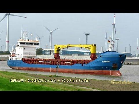 coaster TUPERNA V2BT7 IMO 9375874 Emden cargo seaship merchant vessel KüMo Seeschiff