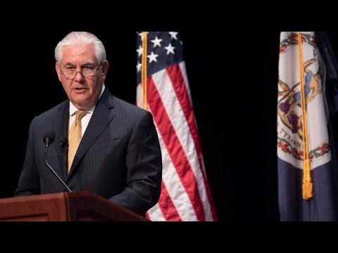 Le secrétaire d'Etat américain Rex Tillerson entame une tournée africaine