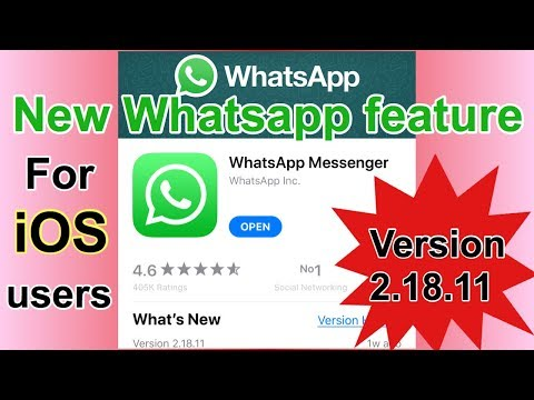 New WhatsApp feature for iOS users    whatsapp new pip feature 2018