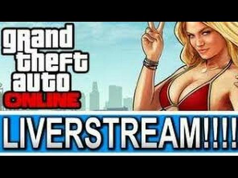 Livestream #10! Jogando GTA 5 online c/ meus parceiros! Meta 300 subs/50 likes!