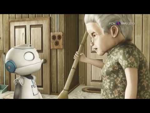 A touching story , Robot and The Lonely Old Lady