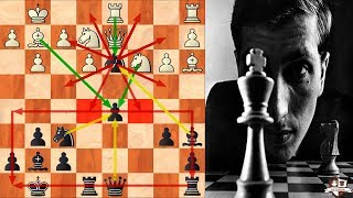 Bobby Fischer 21 movimientos BRILLANTES