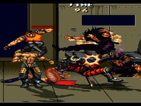 Streets Of Rage Remake V5 MOD Mania II Longplay