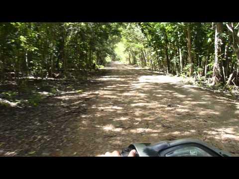 Traveling by Ojek, Timor, Indonesia