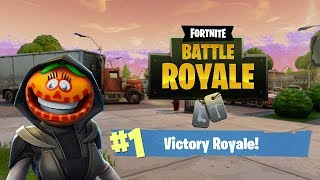 Fortnite Solo Win !!! {NightShade} Skin !!!