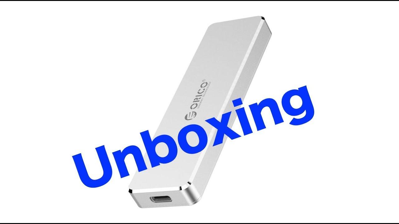 ORICO Aluminum M 2 NVMe USB-C SSD Enclosure (PCM2-C3) Unboxing