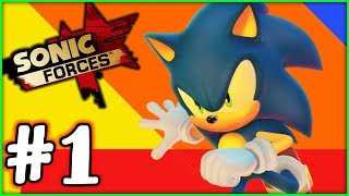 Sonic Forces Gameplay Walkthrough - Part 1 - I AM SONIC!