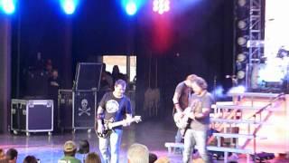 """3 Doors Down """"One Light"""" Clarkston, Michigan 6/27/12 concert live"""
