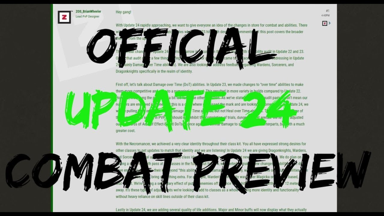Official Update 24 & Dragonhold Combat Preview!