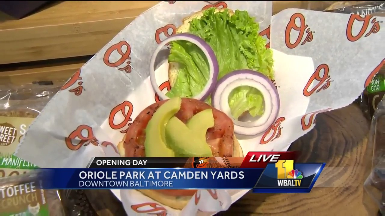 Video Orioles Announce New Food Items For 2017 Season Youtube