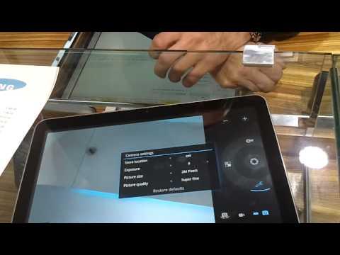 A quick look at the Samsung Galaxy Tab 10.1v