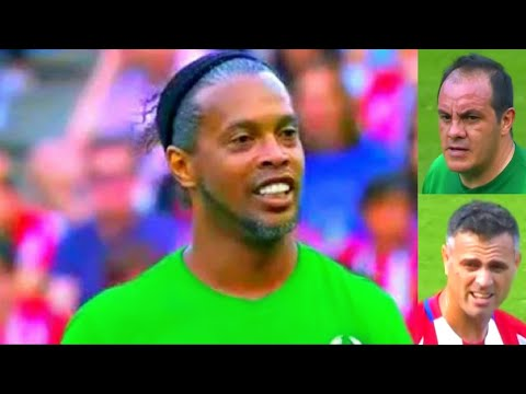 Atletico de Madrid vs world legends scholas 4-5 highlights Atletico de Madrid vs Leyendas del futbol