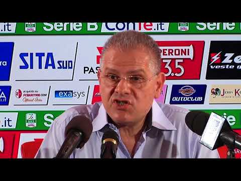 Conferenza stampa (HL) - Cosmo Giancaspro (27/05/18)