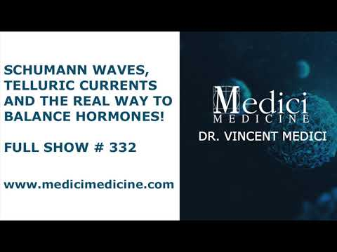 Schumann Waves, Telluric Currents and the Real Way to Balance Hormones! - Full Show #332