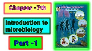 Part-1 ch-7th introduction to microbiology science class 10th new syllabus Maharashtra board.