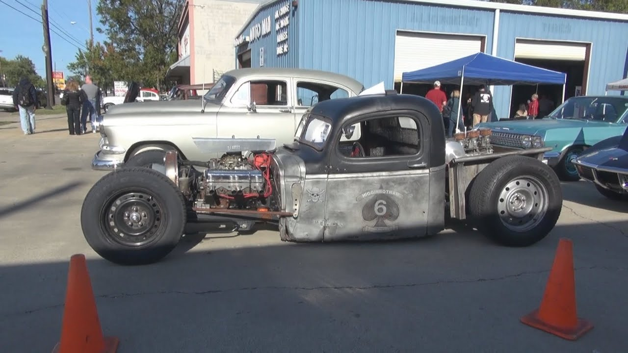 1941 Chevy Rat Rod Truck Grey Beards Customs Open House Youtube Ford Hot