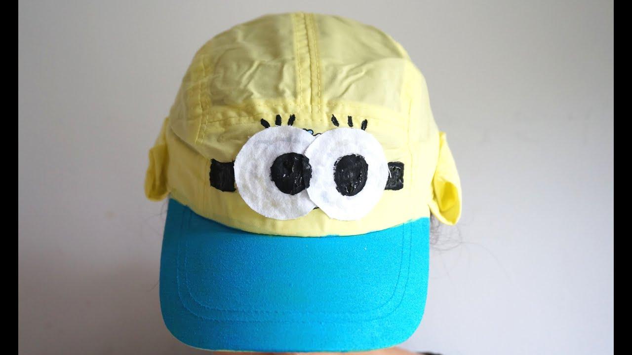 43ed10f598a DIY MINIONS HAT ♡ BACK TO SCHOOL Supplies Haul 2015 ♡ College Blöcke süße  Stifte