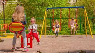 Детская площадка в жилом комплексе
