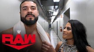 Andrade rattles off his conquests: Raw Exclusive, Dec. 2, 2019