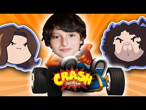 Crash Tag Team Racing with Special Guest Finn Wolfhard - Guest Grumps