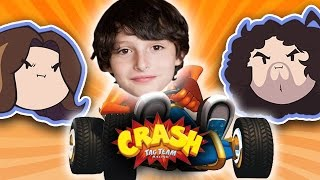 Crash Tag Team Racing with Special Guest Finn Wolfhard - Guest Grumps thumbnail