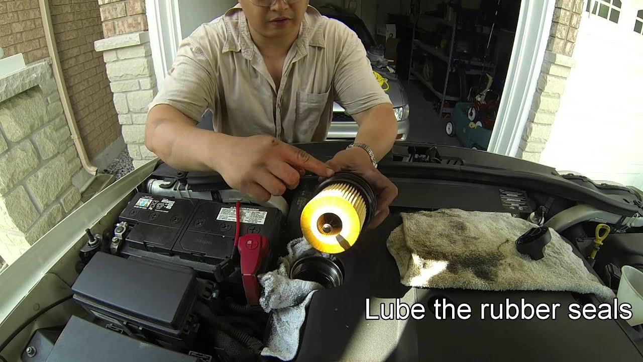 2008 Grand Cherokee 30 Diesel Oil Amp Filter Change YouTube