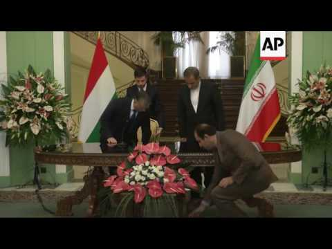 Hungarian PM Orban meets Iran's VP