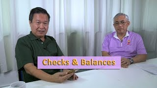 Checks & Balances - Tan Kin Lian & Goh Meng Seng (A Better Deal for Singaporeans)