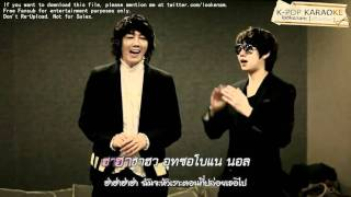 ll Karaoke-Thaisub ll Breakups Are So Like Me - Heechul  and Janghoon [@lookenam] MP3
