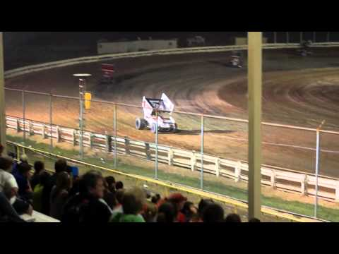 EWSC Racing MSA Sprint Car Feature 7/13/2012