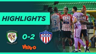 Jaguares vs Junior (Goles y Highlights) Liga BetPlay Dimayor 2021-1 | Fecha 16