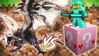 Pink Lucky Block Vs Siêu Rồng Rathalos ?? T Gaming Thử Thách