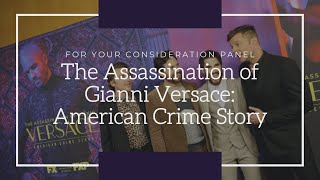 Panel discussion 'The Assassination of Gianni Versace: American Crime Story' Periscope