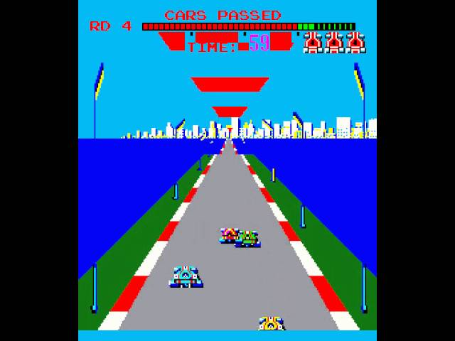 Arcade Game: Turbo (1981 Sega)